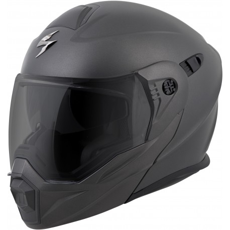 Casco Scorpion EXO-AT950 Modular Negro Mate