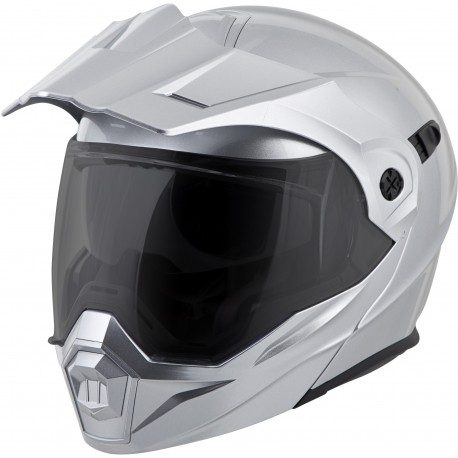 Casco Scorpion EXO-AT950 Modular Plata