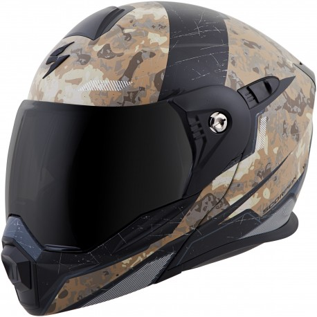 Casco Scorpion EXO-AT950 Modular Arena Camuflaje
