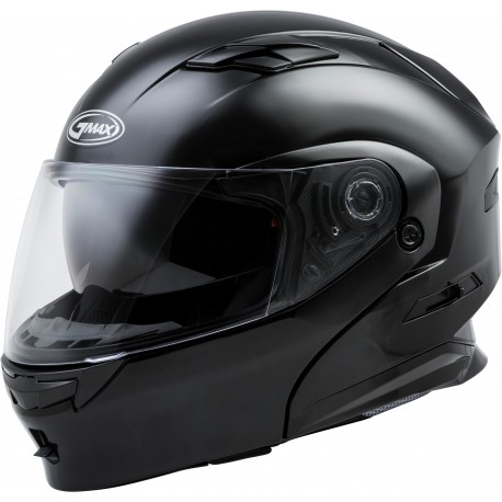 Casco Gmax Modular MD-01 con LED Negro