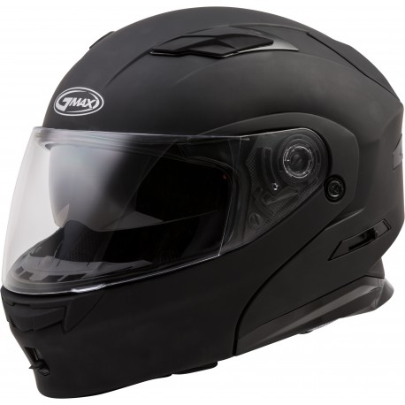 Casco Gmax Modular MD-01 con LED Negro Mate
