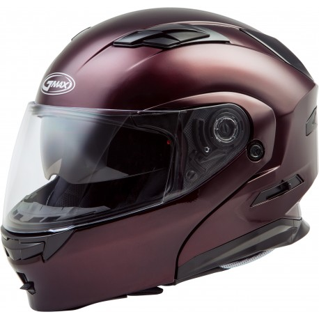 Casco Gmax Modular MD-01 con LED Vino