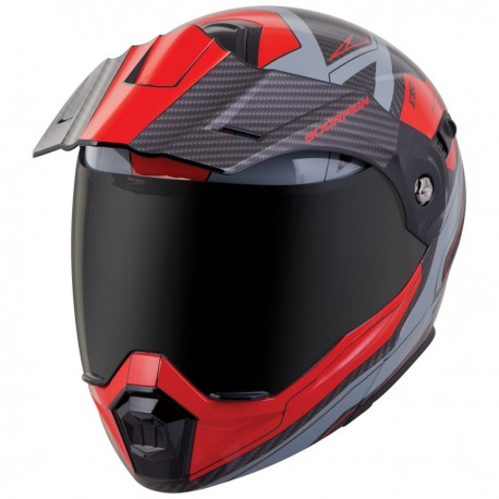 Casco Scorpion EXO-AT950 Modular Tucson Rojo
