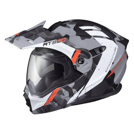 Casco Scorpion EXO-AT950 Modular Outrigger Matte Grey