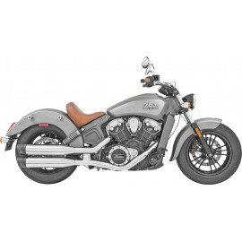"Colas Freedom Racing 4"" Cromo Punta Cromo, Indian Scout"