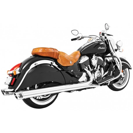 "Colas Freedom Racing 4"" Cromo punta Cromo, Indian Chief"