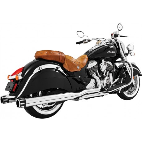 "Colas Freedom Eagle 4"" Cromo Punta Negra, Indian Chief"