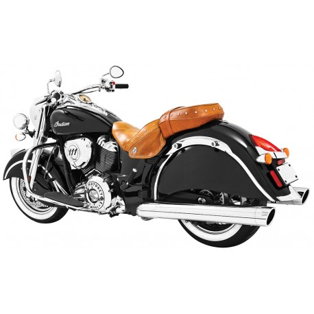 "Colas Freedom Liberty 4"" Cromo punta Cromo, Indian Chief"