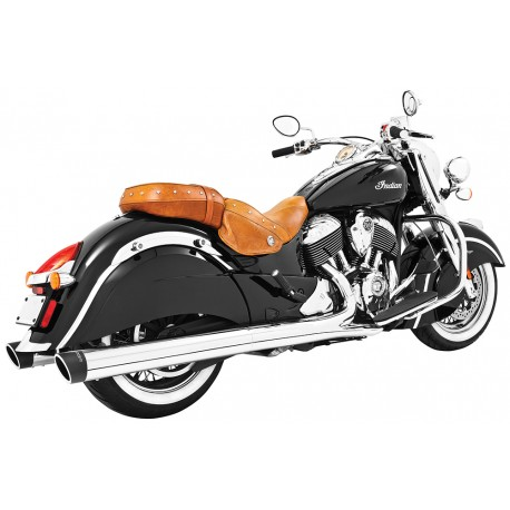 "Colas Freedom Liberty 4"" Cromo punta Negra, Indian Chief"